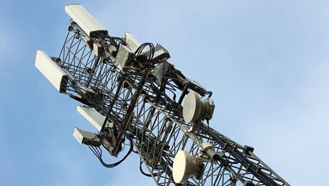 Вышка мобильной связи стандарте LTE. Архивное фото