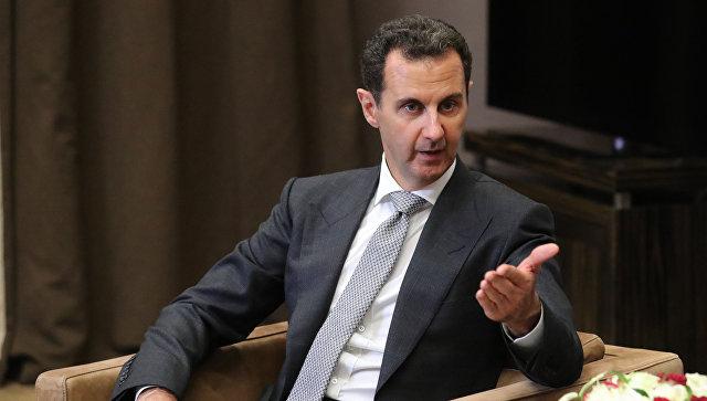 Говорить о том, что война в Сирии окончена, пока нереально, заявил Асад
