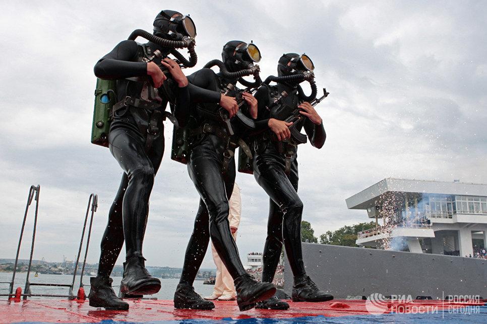 Морская пехота Черноморского флота (ЧФ) России