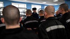 Заключенные исправительной колонии общего режима №2 во Владимирской области в спальне. Архивное фото