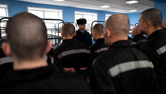 Заключенные исправительной колонии общего режима №2 во Владимирской области в спальне
