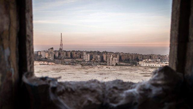 Сирийские военные заявили о попытке прорыва террористов с территории Ливана