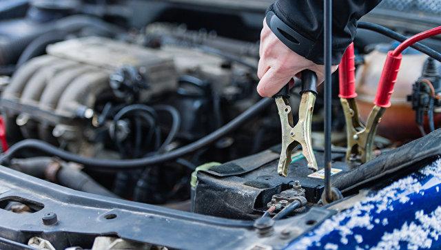 Прикуривание аккумулятора от другого автомобиля