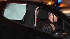 Сулейман Керимов в автомобиле французской полиции в Ницце