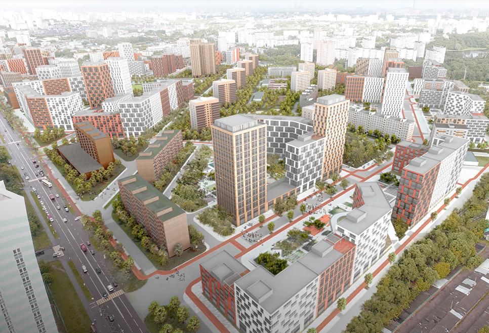 Концепция площадки реновации в Головинском районе от АБ Асадова
