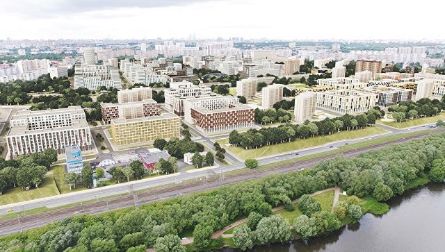 Концепция площадки реновации в районе Царицыно от ТПО Резерв. Архивное фото