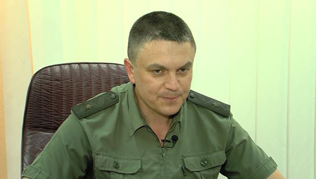 Министр государственной безопасности ЛНР Леонид Пасечник