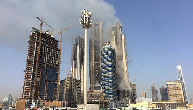 Строительство в ОАЭ. Архивное фото