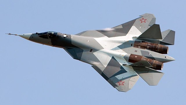 Российский многофункциональный истребитель пятого поколения Су-57