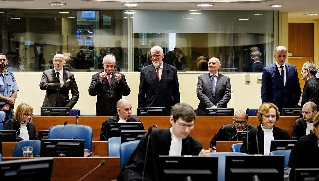 Найдено прощальное письмо хорватского генерала— Самоубийство вГааге