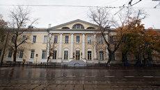 Главный военный клинический госпиталь имени Бурденко. Архивное фото