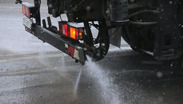 МЧС просит водителей быть осторожнее из-за гололедицы в московском регионе