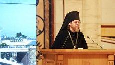 Епископ Егорьевский Тихон (Шевкунов) на заседании Архиерейского собора РПЦ. Архивное фото