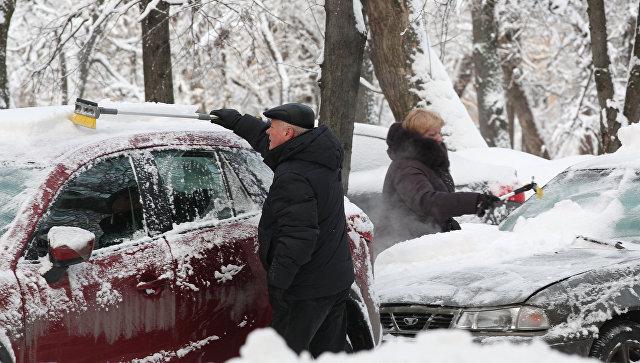 Мокрый снег игололедица ожидаются вПодмосковье наРождество