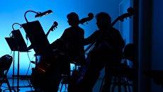 Симфонический оркестр. Архивное фото