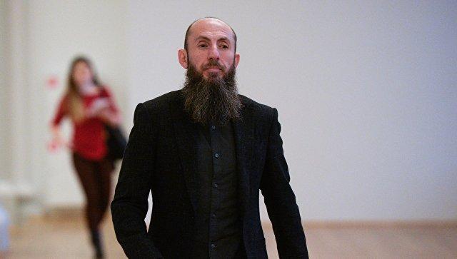 Художественный руководитель театра Владимир Кехман перед открытием после реконструкции малой сцены Новосибирского академического театра оперы и балета. 2 декабря 2017