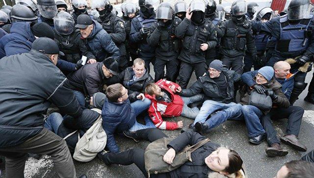 ВГрузии назвали внутренним делом государства Украины беспорядки изадержание Саакашвили
