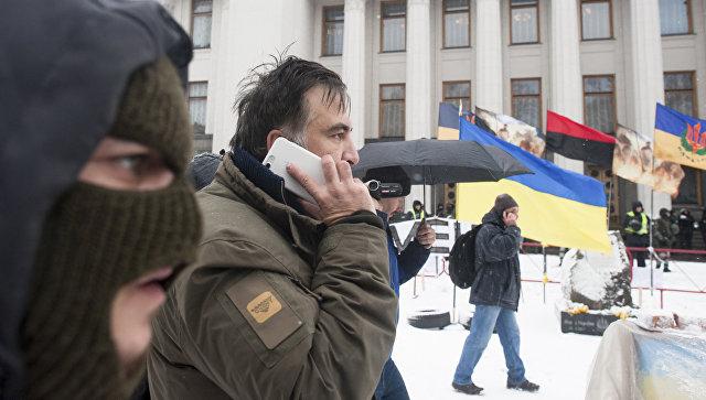 Саакашвили вСИЗО принесли костюм, предметы гигиены икниги оРейгане