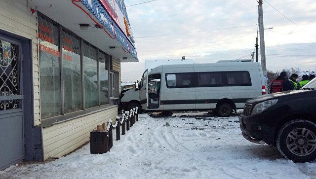 ДТП с маршруткой в новой Москве. 8 декабря 2017