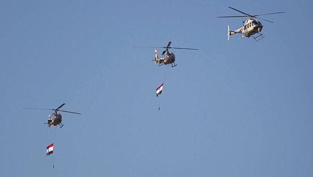 ВБагдаде проходит военный парад вчесть разгромаИГ