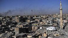 Панорама Ракки, Сирия. Архивное фото
