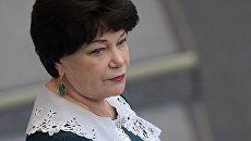 Председатель комитета Государственной Думы РФ по вопросам семьи, женщин и детей Тамара Плетнева. Архивное фото