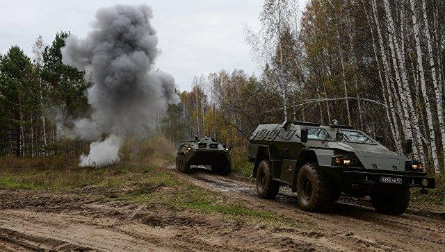 ВСвердловской области начались учения ракетных войск стратегического назначения