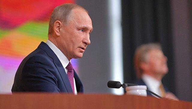 Эксперты о пресс-конференции: Путин заложил кирпичики предвыборной кампании