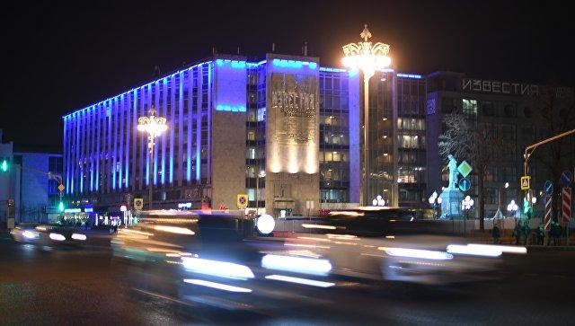 Здание на Тверской улице