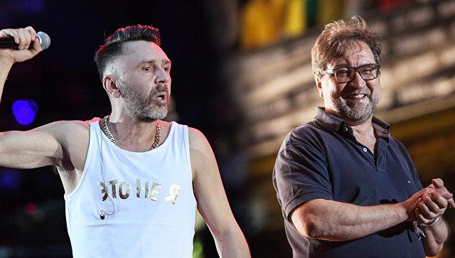Сергей Шнуров и Юрий Шевчук