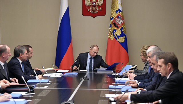 Совещание с неизменными членами Совета Безопасности