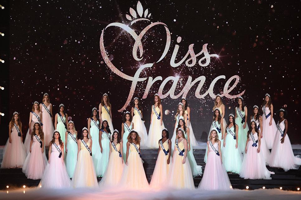 Участницы конкурса красоты Мисс Франция 2018