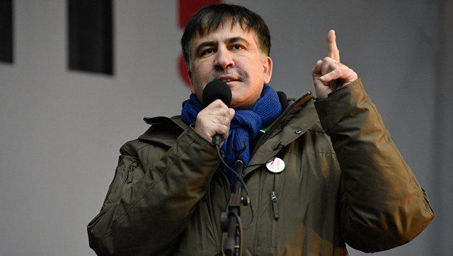 Экс-президент Грузии и бывший губернатор Одесской области Украины Михаил Саакашвили. Архивное фото