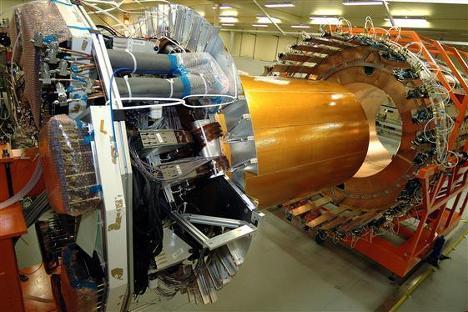 Большой адронный коллайдер - детектор ATLAS
