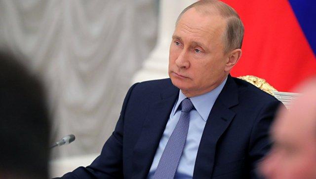 Владимир Путин на заседании Совета по стратегическому развитию и приоритетным проектам. 20 декабря 2017