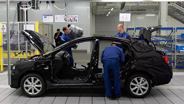 Автомобильный завод Hyundai. Архивное фото