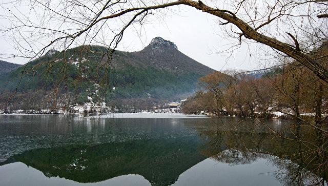 Зима в Крыму. Архивное фото