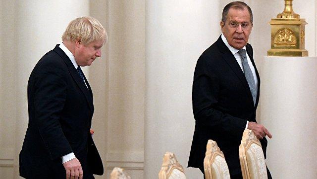 Отношения РФ и Англии находятся наочень низком уровне