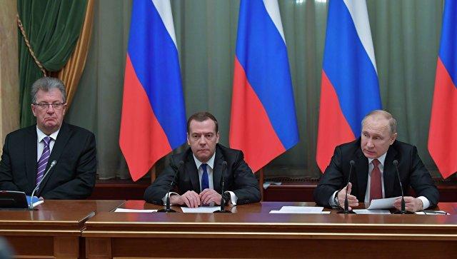 Путин поручил изучить вопрос создания на далеком  Востоке центров поперевалке СПГ