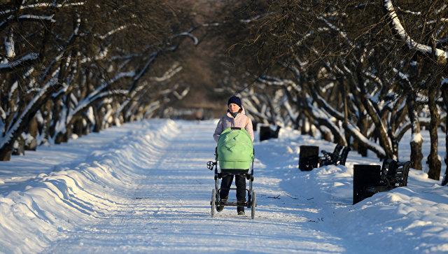В Москве объявили «желтый» уровень погодной опасности на воскресенье