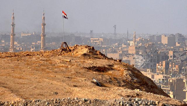 Вид на Сирию. Архивное фото
