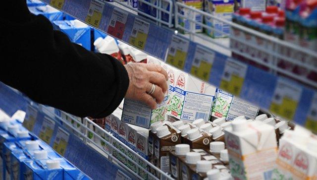 Прилавок в супермаркете. Архивное фото