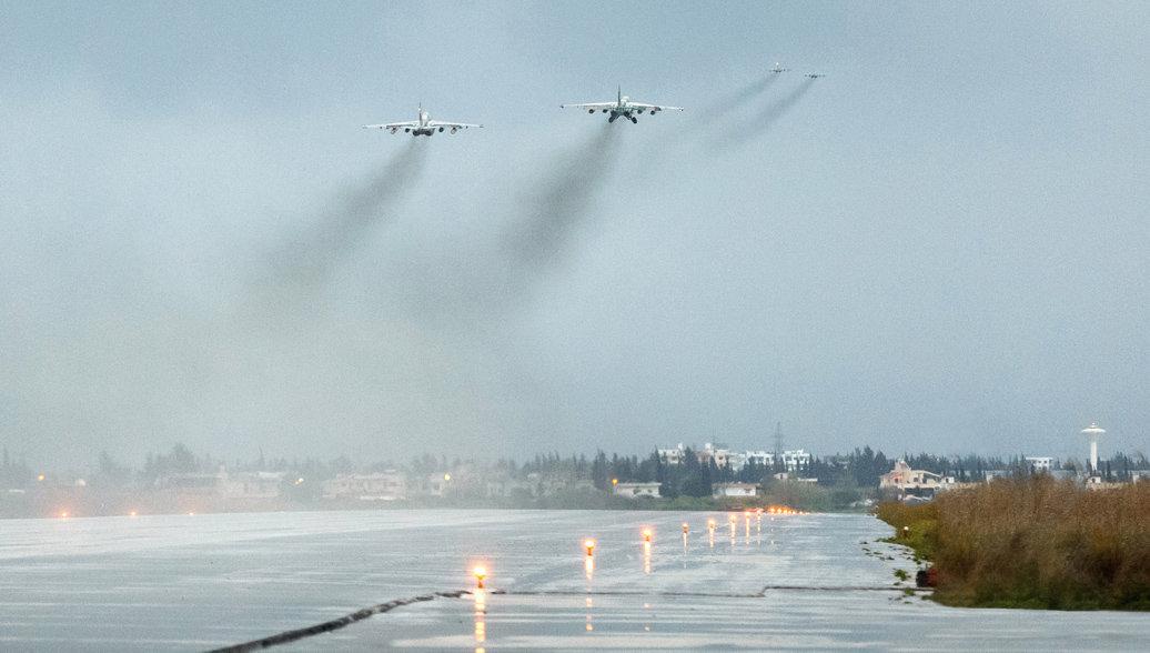 Российский спецназ уничтожил диверсантов, обстрелявших базу Хмеймим