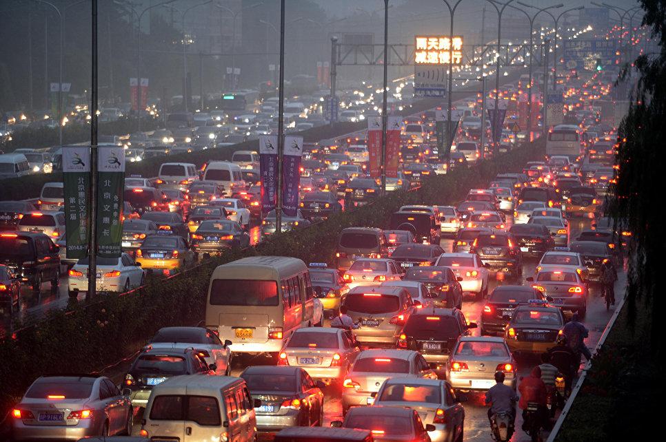 Пробка в Пекине