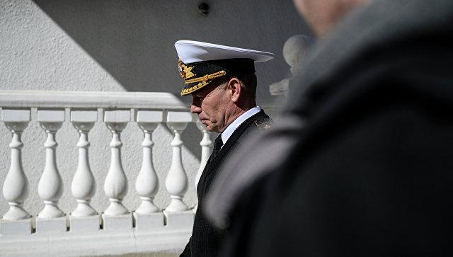 Главнокомандующий Военно-морскими силами Украины Сергей Гайдук. Архивное фото