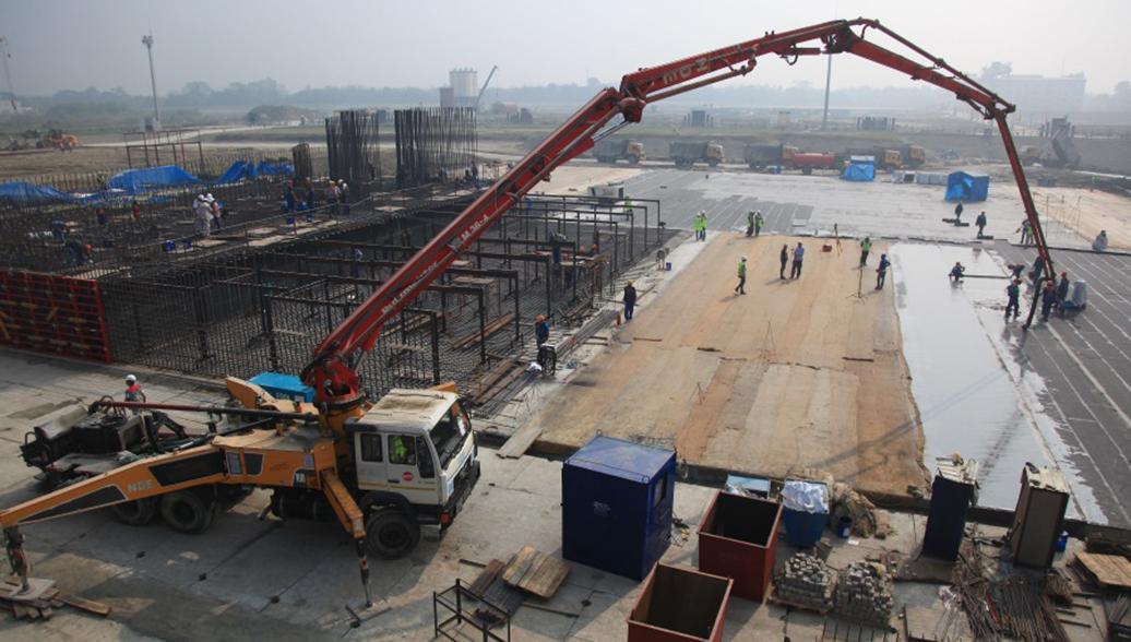 Стройплощадка АЭС Руппур, Бангладеш. Архивное фото