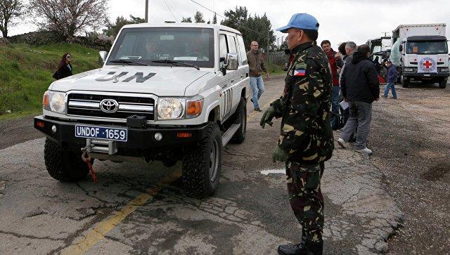 Миротворцы ООН на Голанских высотах