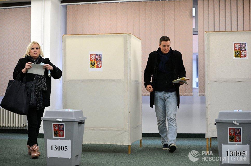 ВЧехии предстоит 2-ой тур президентских выборов