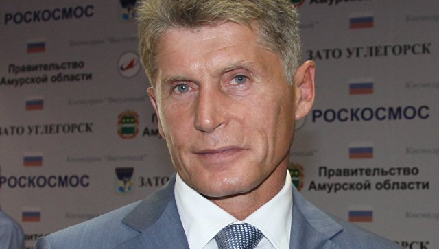 Губернатор Амурской области Олег Кожемяко. Архивное фото