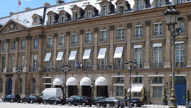 Ritz Paris Palace в Париже. Архивное фото